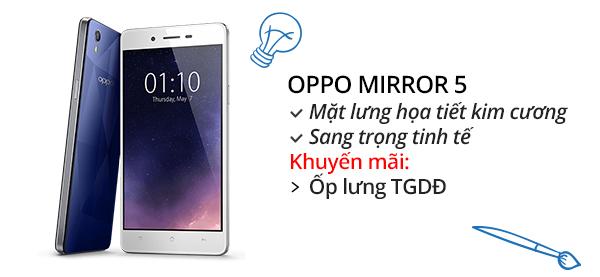 Điện thoại di động OPPO Mirror 5
