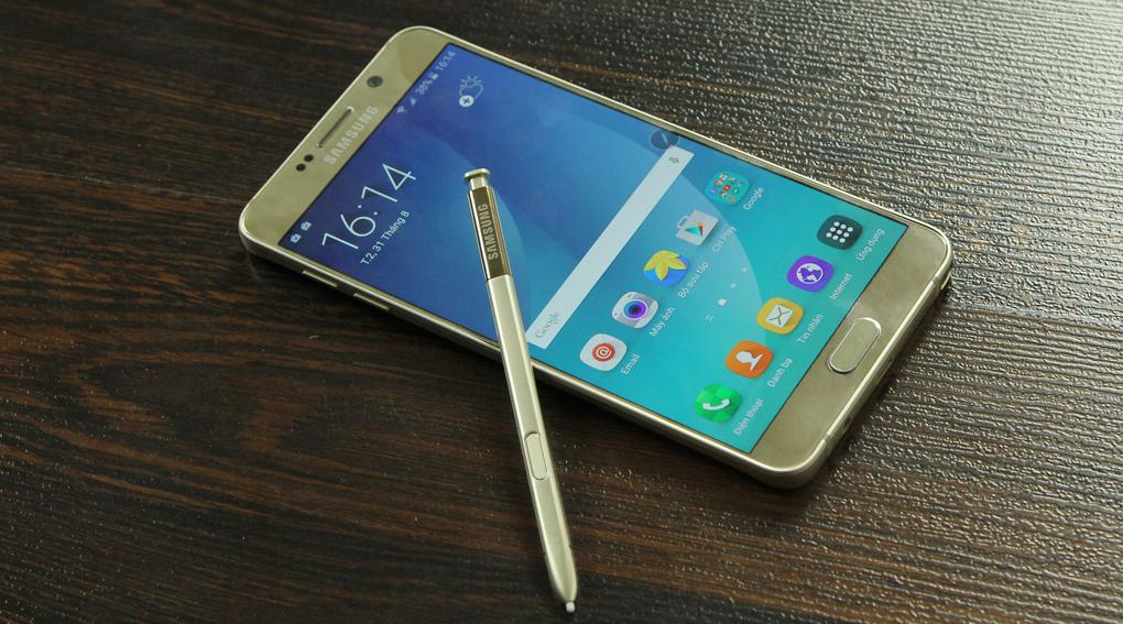 Thiết kế của Samsung Galaxy Note 5--1-2