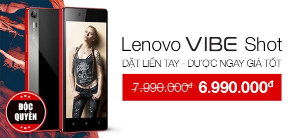 Điện thoại di động Lenovo Vibe Shot