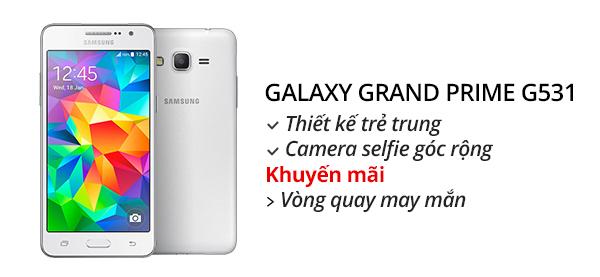 Điện thoại di động Samsung Galaxy Grand Prime G531