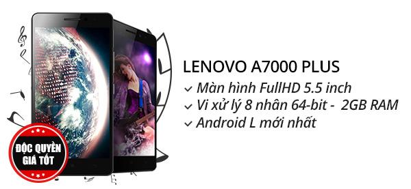 Điện thoại di động Lenovo A7000 Plus