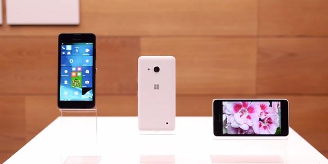 Thiết kế ưu thích của các dòng Lumia giá rẻ rất thời trang