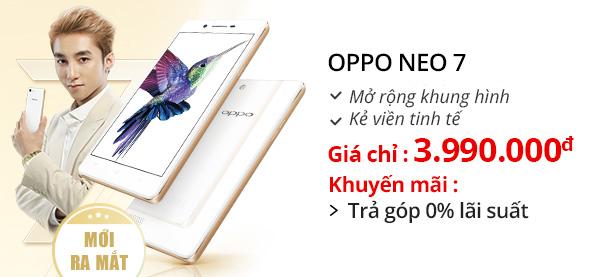 Điện thoại di động OPPO Neo 7