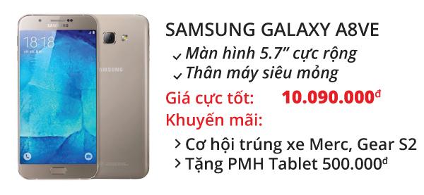 Điện thoại di động Samsung Galaxy A8VE