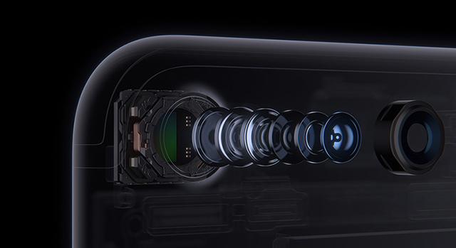 Camera với ống kính 6 thành phần
