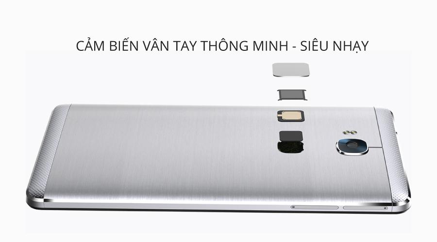 Cảm biến vân tay một chạm danh tiếng của Huawei được nâng tầm ở version 2.0 mới với khả năng mở rộng cho các ứng dụng khác, dùng để chụp ảnh selfie hoặc nhận cuộc gọi