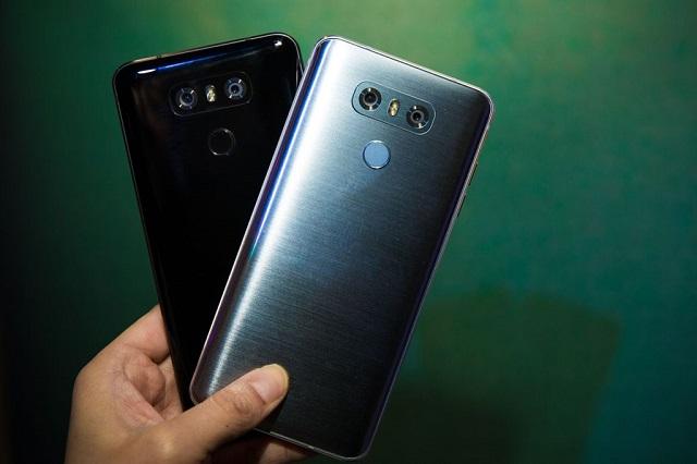 LG G6 - Thiết kế nguyên khối