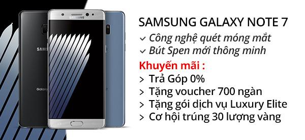 Điện thoại di động Samsung Galaxy Note 7
