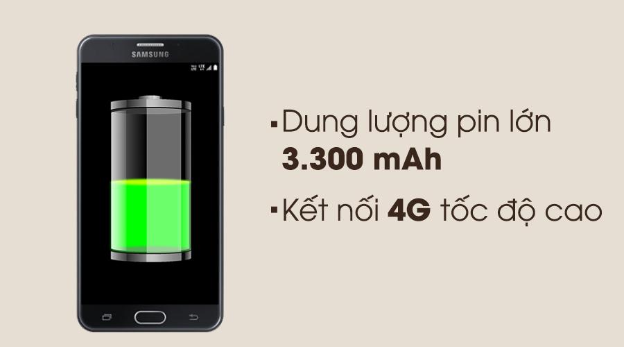 Dung lượng pin khủng và kết nối 4G