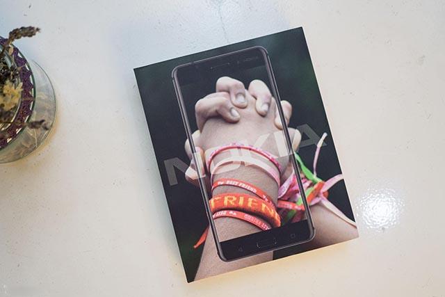 Biểu tượng quen thuộc của hộp chiếc Nokia 6