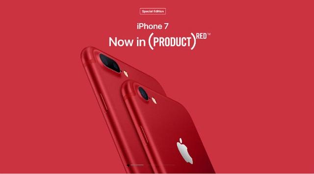 iPhone 7 Red 128GB - Màu sắc nổi bật