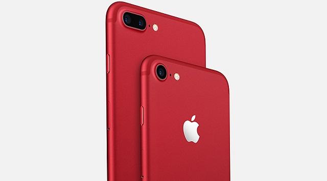 iphone 7 red6 Siêu khuyến mãi   Iphone 7 128GB Đỏ giá tốt