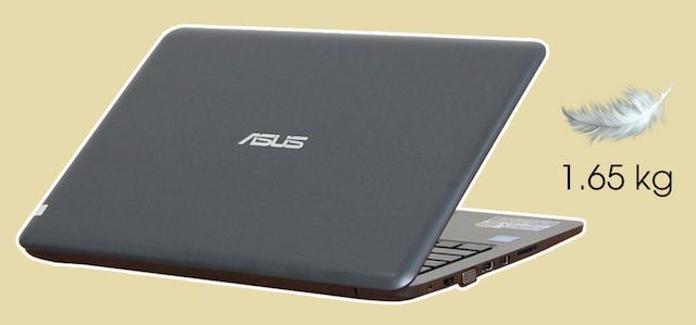Asus E402NA N3350 - Thiết kế của máy