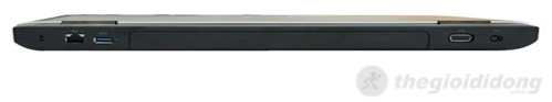 Mặt sau của máy Dell Vostro 3550