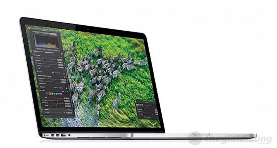 Màn hình Retina của MacBook Pro MC975 cho hình ảnh hiển thị xuất sắc