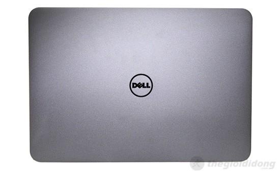 Mặt sau Dell XPS 14 L421X là màu nhôm bạc