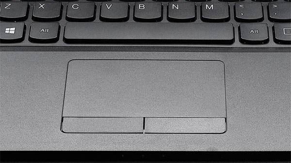 Touchpad mượt mà, lướt êm của Lenovo G400