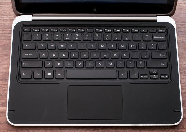 Dell XPS  Duo 12 backlit keyboard