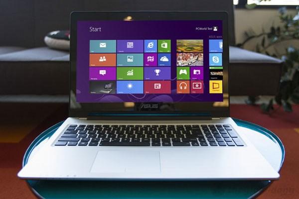 VivoBook S550CA nổi bật với màn hình cảm ứng