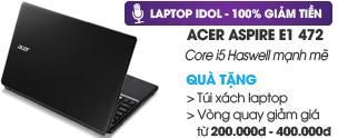 Acer Aspire E1 472 i5 4200U/4G/500G