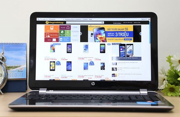 HP Pavilion 15 n042TX màn hình 15,6inch brightview