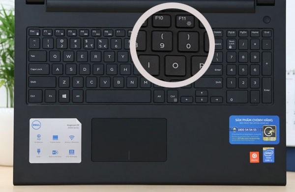 Dell Inspiron 15 3542 bàn phím chiclet fullsize