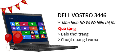 Laptop Dell Vostro 3446 i5 4210U/4G/500G/VGA 2GB/Win8.1