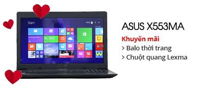 Laptop Asus X553MA Celeron N2830/2GB/500GB/Win8 Bing