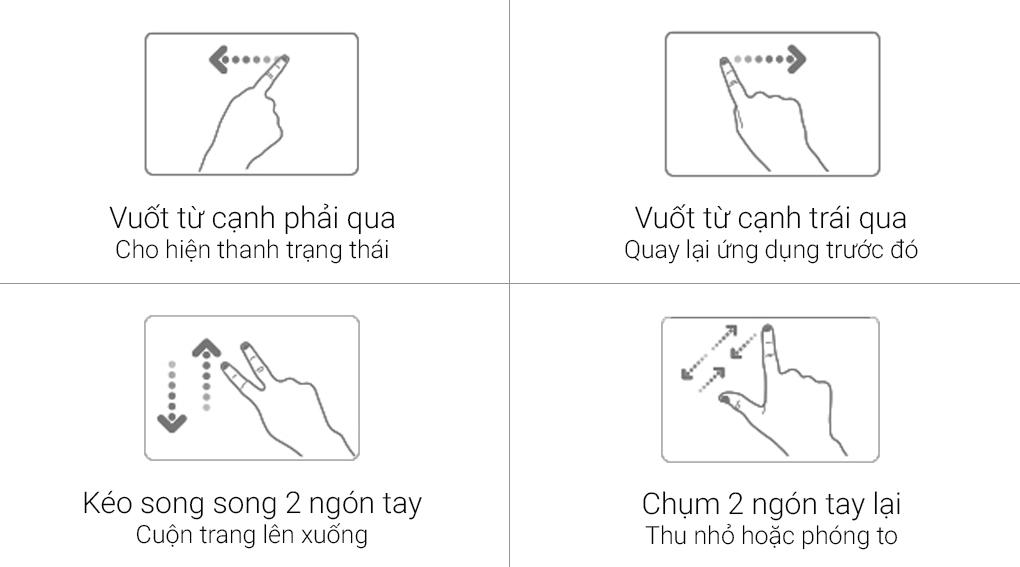 Tính năng Asus Smart Gesture