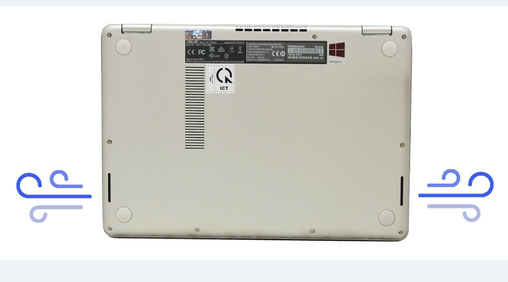 Duy trì nhiệt độ của máy ổn định với Ice Cool