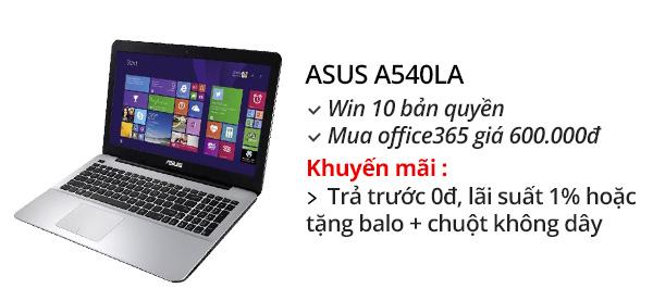 Laptop Asus A540LA i3 5005U/4GB/500GB/Win10