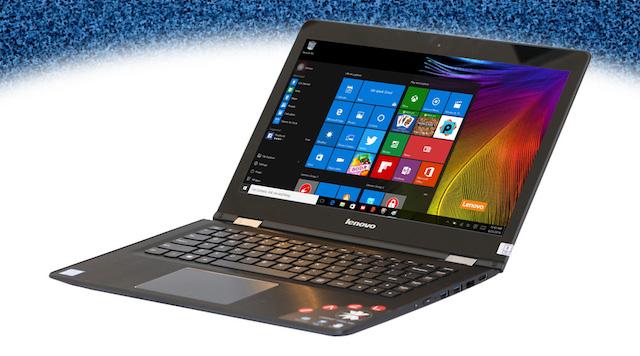 Lenovo Yoga 500 i5 6200U - 2 cạnh bên