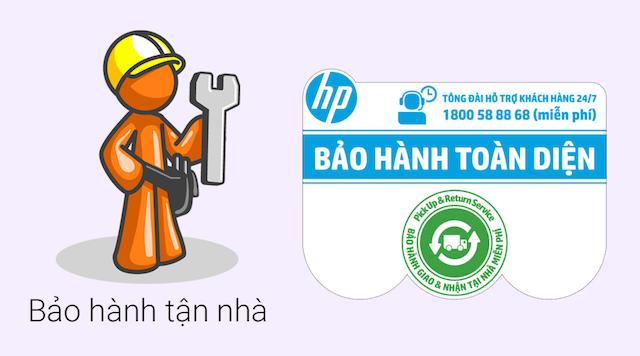 HP 14 am065TU N3060 - Chế độ bảo hành tốt