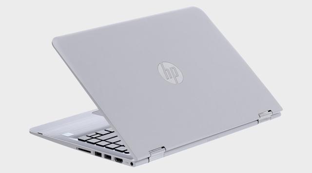 HP Pavilion x360 u107TU i5 7200U - Kiểu dáng thon gọn, quen thuộc của dòng HP xoay 360 độ