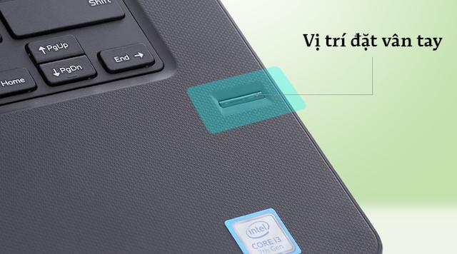 Dell Vostro 3468 i3 7100U - Vân tay