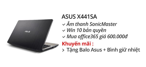 Asus X441SA N3710