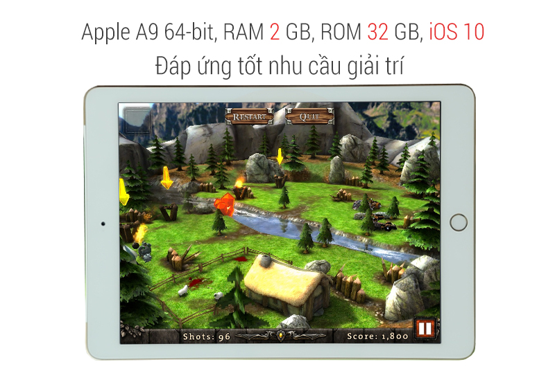 IPad, wi-Fi, cellular 32GB - Space Gray - Apple Apple iPad, wi-Fi, cellular 32GB, space Gray (MP242, MP1J2