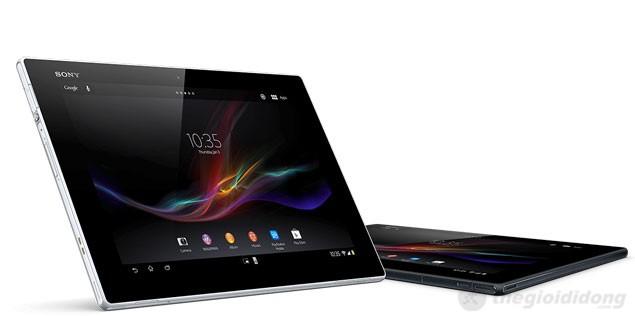 Sony Xperia Tablet Z siêu phẩm mỏng nhất thế giới