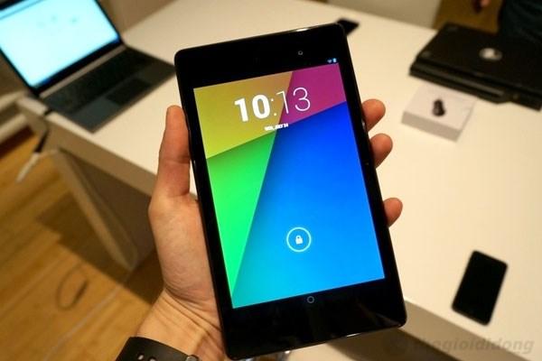 Nexus 7 2013 sở hữu màn hình Full HD vô cùng sắc nét