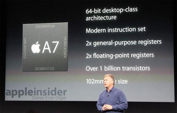 iPad Air gây ấn tượng mạnh nhờ sở hữu chip A7 64-bit đầu tiên trên thế giới
