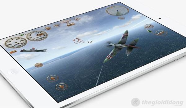 Chơi game đồ họa cao trên iPad Mini 2 vẫn mượt mà và không hề lag giật