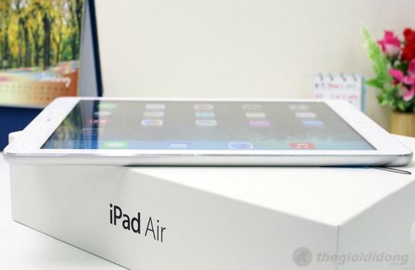 iPad Air mỏng, nhẹ đến tuyệt vời