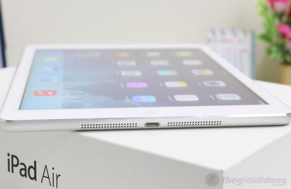 iPad Air cho bạn thời lượng pin dài để bạn sử dụng với một ngày năng động