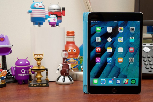 iPad mini 4 – Cấu hình tốt hơn với thiết kế siêu gọn nhẹ