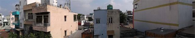 Máy vẫn trang bị khá nhiều tính năng chụp ảnh như panorama, tự động lấy nét... (Ảnh: Phan Phú Trung)