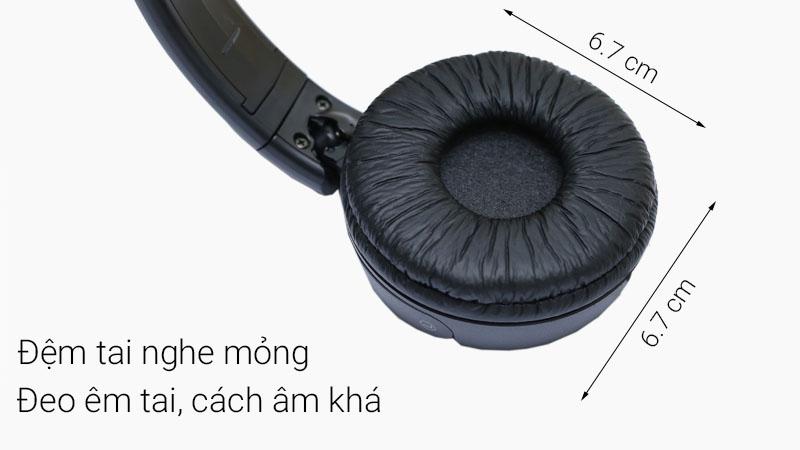 Kích thước đệm tai nghe