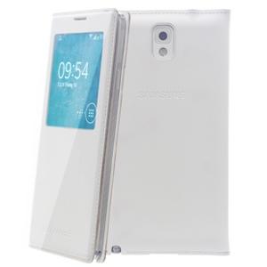 Ốp lưng điện thoại Bao da nắp gập S-view SS GLX Note 3 N9000