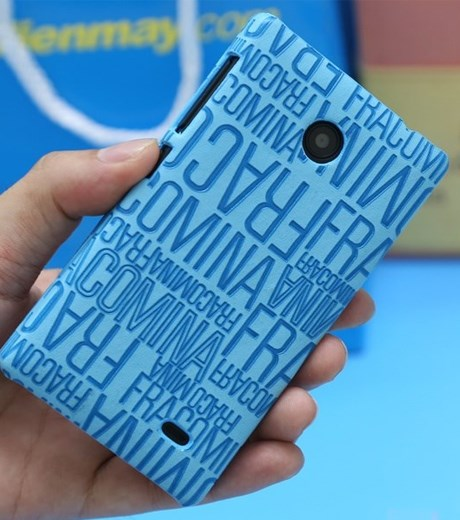 Ốp lưng - Flipcover điện thoại Ốp lưng da Nokia X Cover Kiss