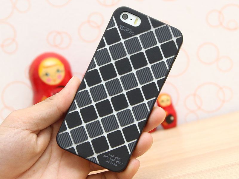 Ốp lưng nhựa Iphone 5 5s Cococ Stylish