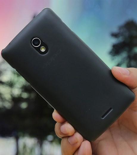 Ốp lưng - Flipcover điện thoại Ốp lưng Oppo Joy R1001/R1011 nhựa trong ilike